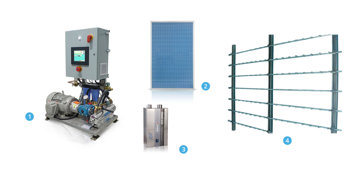 Smart-cooling-components